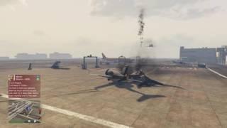 Grand Theft Auto V Plane Crash