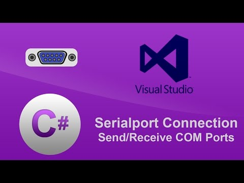 C# - NEW 2017 - SerialPort Connection - Send/Receive through COM Ports - Putty/ Null-Modem