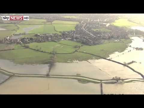 Flooding And Erosion Damage Across The UK