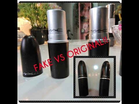 FAKE Vs REAL MAC Lipstick : How To Identify!