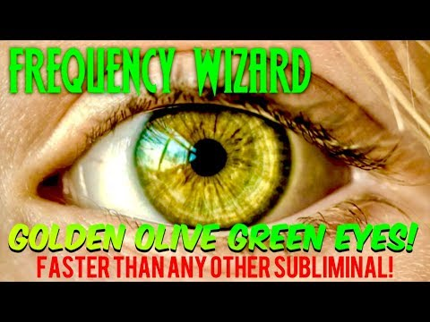 ⚡️GET AMAZING GOLDEN OLIVE GREEN EYES FASTER THAN ANY OTHER SUBLIMINAL! BIOKINESIS BINAURAL BEATS