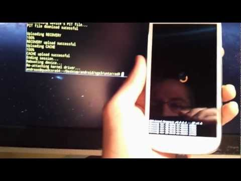 Howto: Root on Samsung Galaxy S3 using Linux and Heimdall