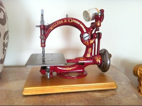 Antique Wilcox & Gibbs sewing machine
