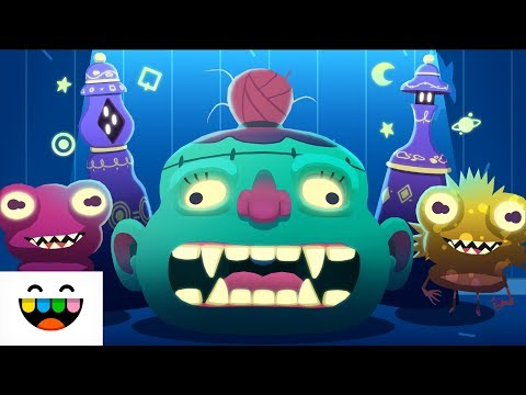 DON'T LOOK DOWN | Toca Mystery House