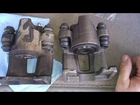 2006 Ford Explorer rear brake calipers replacement