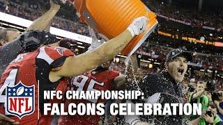 Best of Falcons NFC Championship Celebration | NFL