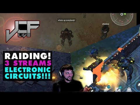 Last Day on Earth: Raiding with 3 streams at once. Multiplayer. Etc. (Live Event)