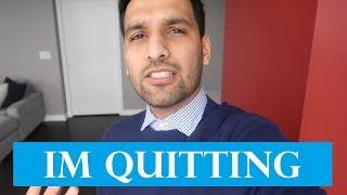AM I QUITTING YOUTUBE?