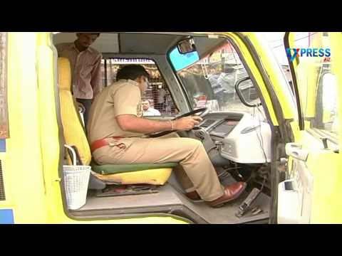 RTO officials seizes 7 private school buses in kurnool