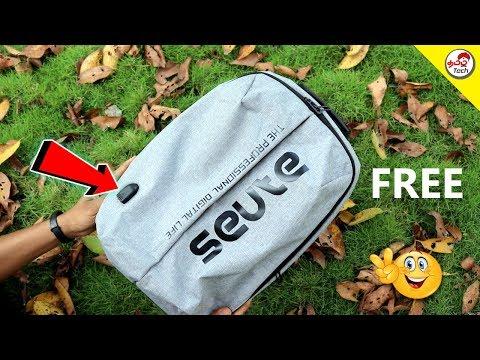 அசத்தல் Gadget Laptop Backpack Review + Big Giveaway | Tamil Tech