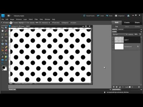 Photoshop Elements: Polka Dots!
