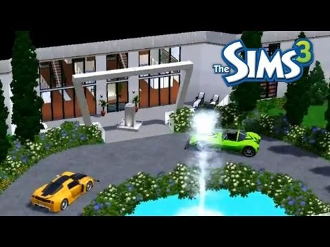 Sims 3: House Builds - A Modern Mansion