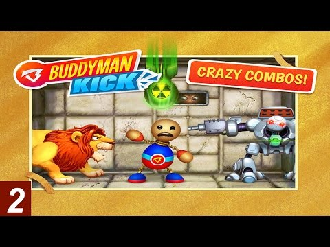 Buddyman: Kick (by Kick the Buddy) - Part 2 - Compatible with iPhone, iPad