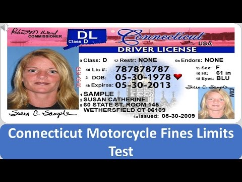 Connecticut Motorcycle Fines Limits Test