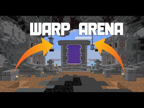 SaicoPvP Witch Realm Factions Episode 3: NEW WARP ARENA!!