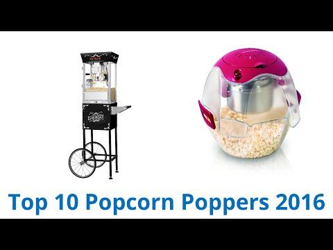 10 Best Popcorn Poppers 2016
