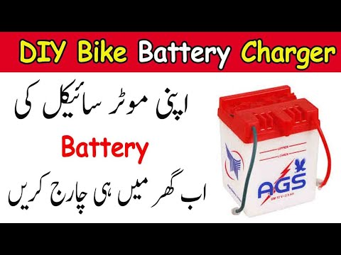 DIY Make A Bike Battery Charger!Motorcycle battery charger