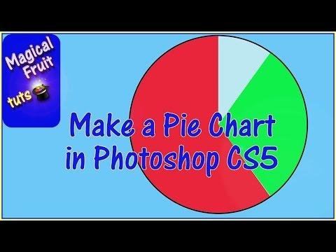 Make a Pie Chart in Photoshop CS5