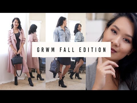 Get Ready with Me Fall Edition | NEW Favorites + Routine | ANN LE