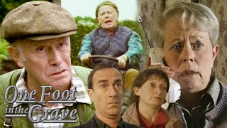 BEST BITS: One Foot in the Grave '96 Christmas Special | One Foot in the Grave | BBC Comedy Greats
