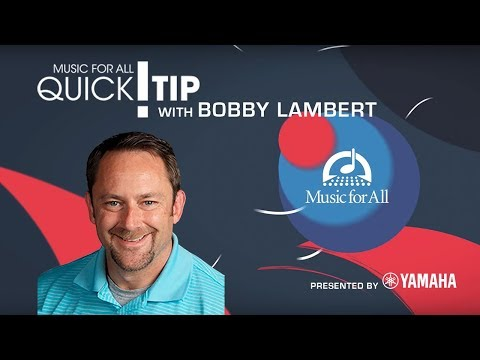 Quick Tip with Bobby Lambert
