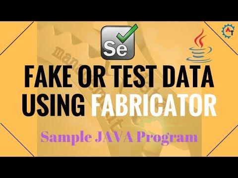 12. Sample Program Using FABRICATOR API in JAVA