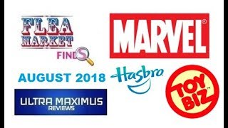 Flea Market Finds Marvel Action Figures (August 2018)