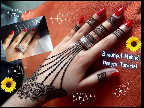 Mehndi Army : Watch how to apply easy simple mehndi design for hands tutorial
