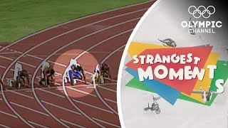 False starts and missed starts at the Olympics   Strangest Moments
