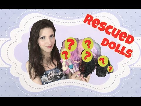 RESCUED DOLLS #48  ~  Pre-owned / second-hand Monster High, Ever After High, Barbie and more!