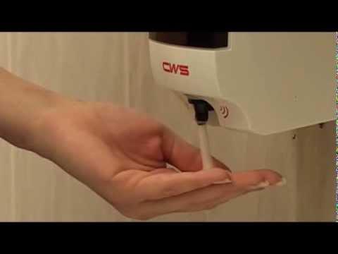CWS Paradise Foam NT - non-touch foam soap dispenser for public washrooms