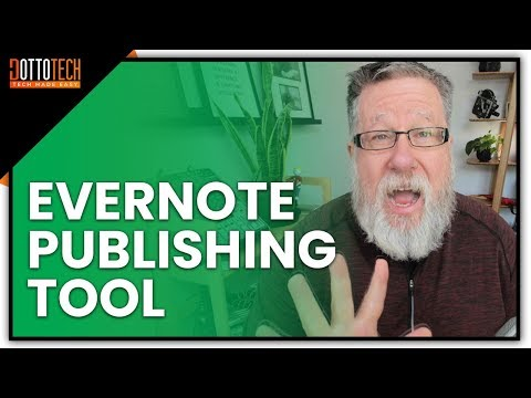 Using Evernote as a Web Publishing Tool