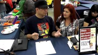 Nerdcore News - Peter Paul at Animation Toon Con