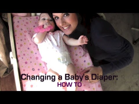 Changing a Baby's Diaper: How To