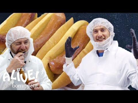 How To Make Sausage with Brad | It's Alive | Bon Appétit