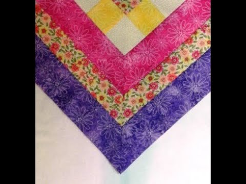 No Fail Mitered Borders and Corners - Quilt Instructions