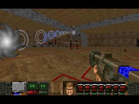 Psychophobia (Doom II wad): All new Monsters (3/3) - PlayItHub