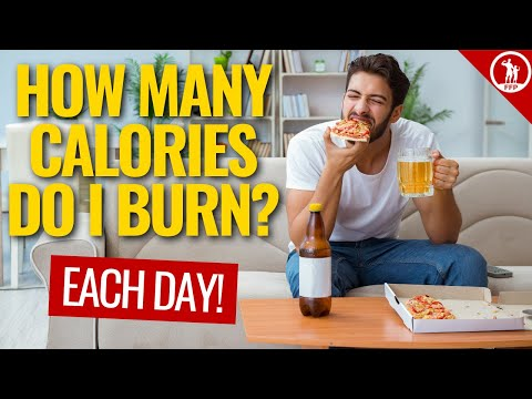 How Many Calories Do I Burn Each Day Without Exercising?