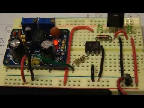 555 Test Bed / Component tester / Cap dump