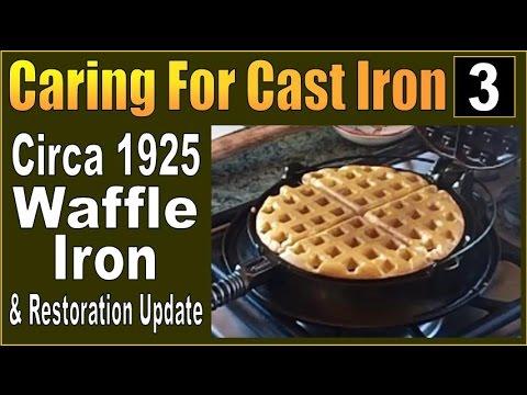 CARING FOR CAST IRON. Maintenance & Restoration PART 3.