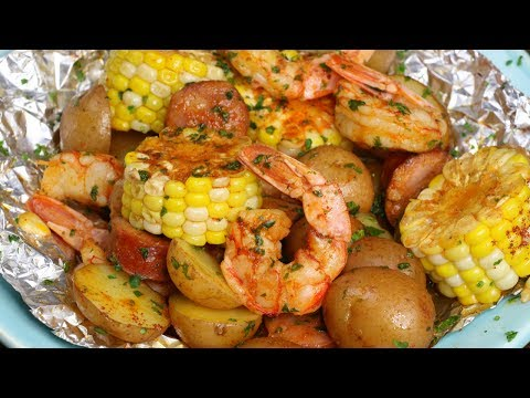 The Best Shrimp Boil Foil Packets - Grilled or Baked