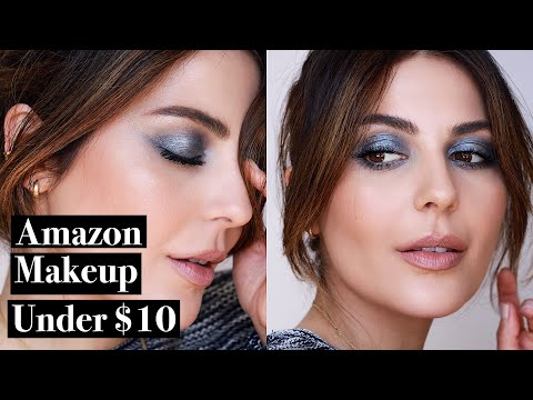 Full Face Using Amazon Makeup under $10