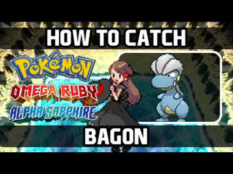 Pokemon Omega Ruby / Alpha Sapphire - How To Catch: Bagon [Walking]