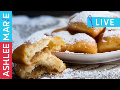 LIVE - How to make Beignets