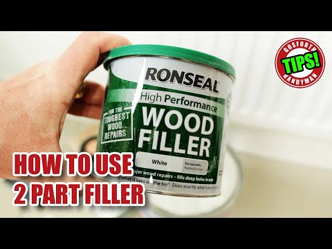 HOW TO USE 2-PART RESIN FILLERS - GHTL#13 [92]