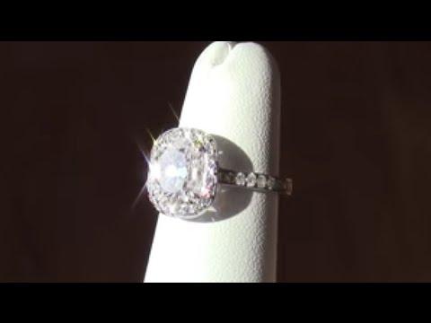 Cushion Cut Engagement Rings - Making A 2ct Cushion Cut Engagement Ring - Vanessa Nicole Jewels