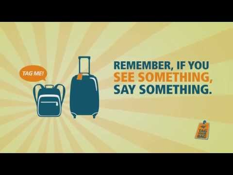Amtrak Travel Tip: Tag Your Bag
