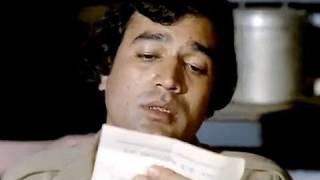 Drunk Rajesh Khanna \u0026 Raza Murad's shayari | Namak Haraam | Bollywood Scene