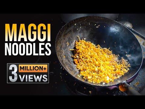 Maggi Noodles Unique Recipes   Egg Maggi Noodles   Chicken Maggi Noodles   Hyderabad Street Food