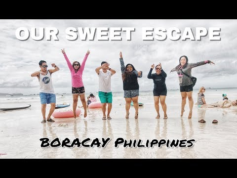 HOW TO USE CHOPSTICKS (Two Days and 1 Night Adventure Trip in BORACAY)
